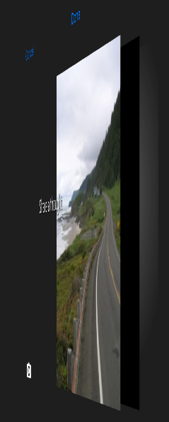 Photos editor view is attached to a UIPanGestureRecognizer and an UIImageView.